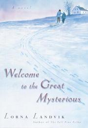 Cover art for WELCOME TO THE GREAT MYSTERIOUS
