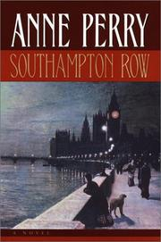 SOUTHAMPTON ROW by Anne Perry