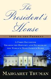 Cover art for THE PRESIDENT'S HOUSE