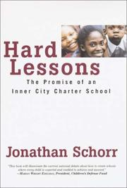 HARD LESSONS by Jonathan Schorr
