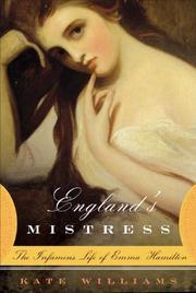 ENGLAND'S MISTRESS by Kate Williams