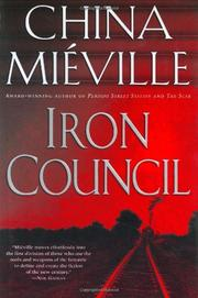 Cover art for IRON COUNCIL