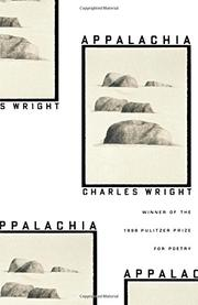 APPALACHIA by Charles Wright
