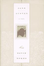 JANE AUSTEN by David Nokes