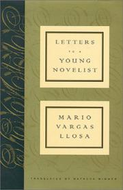 Cover art for LETTERS TO A YOUNG NOVELIST
