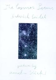 THE COSMOS POEMS by Frederick Seidel