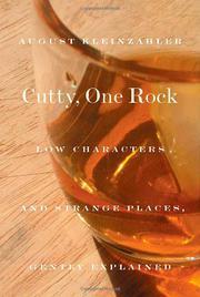 CUTTY, ONE ROCK by August Kleinzahler