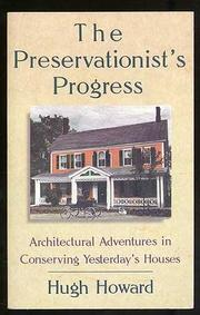 Cover art for THE PRESERVATIONIST'S PROGRESS