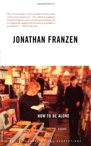Book Cover for HOW TO BE ALONE