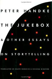 THE JUKEBOX AND OTHER WRITINGS by Peter Handke