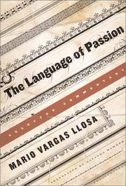Cover art for THE LANGUAGE OF PASSION