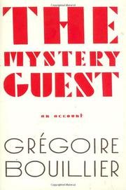 Cover art for THE MYSTERY GUEST