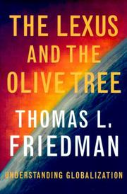 Book Cover for THE LEXUS AND THE OLIVE TREE