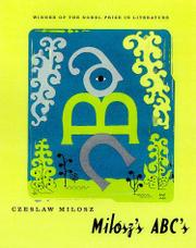 Cover art for MILOSZ'S ABC'S