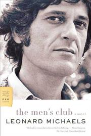 THE MEN'S CLUB by Leonard Michaels
