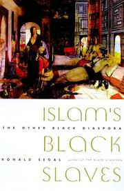 ISLAM'S BLACK SLAVES by Ronald Segal