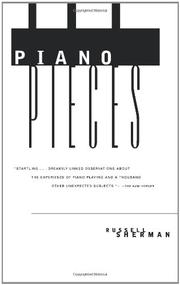 PIANO PIECES by Russell Sherman