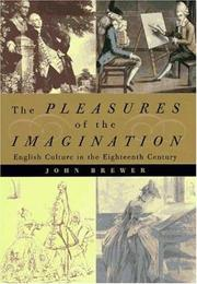 THE PLEASURES OF THE IMAGINATION by John Brewer