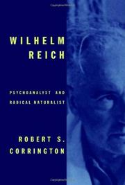 WILHELM REICH by Robert S. Corrington