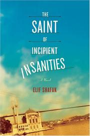 THE SAINT OF INCIPIENT INSANITIES by Elif Shafak