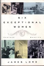 SIX EXCEPTIONAL WOMAN by James Lord