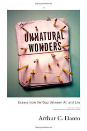 Cover art for UNNATURAL WONDERS