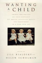 WANTING A CHILD by Jill Bialosky