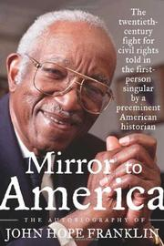 Cover art for MIRROR TO AMERICA