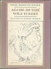 ALONE IN THE WILD FOREST (AN ARIEL BOOK) by Elizabeth Shub