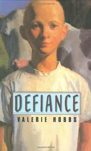 DEFIANCE by Valerie Hobbs