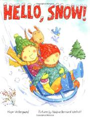 Cover art for HELLO, SNOW!
