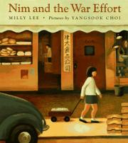 Cover art for NIM AND THE WAR EFFORT
