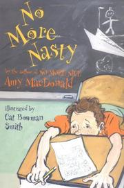 Cover art for NO MORE NASTY