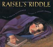 RAISEL'S RIDDLE by Erica Silverman