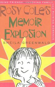 Book Cover for ROSY COLE'S MEMOIR EXPLOSION