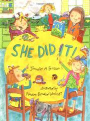 SHE DID IT! by Jennifer A. Ericsson