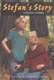 STEFAN'S STORY by Valerie Hobbs