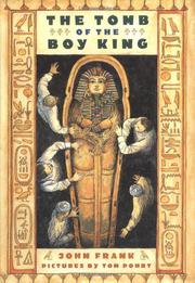 Cover art for THE TOMB OF THE BOY KING