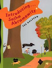INTRODUCING . . . SASHA ABRAMOWITZ by Sue Halpern