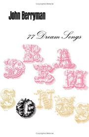 77 DREAM SONGS by John Berryman
