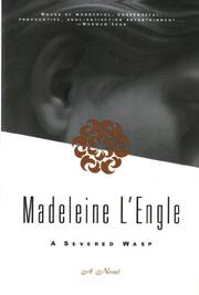 A SEVERED WASP by Madeleine L'Engle