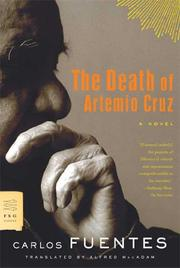 Cover art for THE DEATH OF ARTEMIO CRUZ