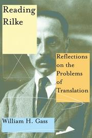 Cover art for READING RILKE