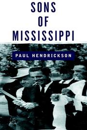 Cover art for SONS OF MISSISSIPPI