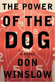 Book Cover for THE POWER OF THE DOG