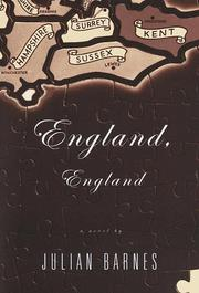 Book Cover for ENGLAND, ENGLAND