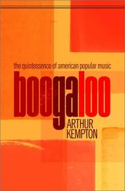 BOOGALOO by Arthur Kempton