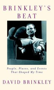 BRINKLEY'S BEAT by David Brinkley