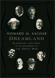 DREAMLAND by Howard M. Sachar