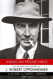 Cover art for AMERICAN PROMETHEUS